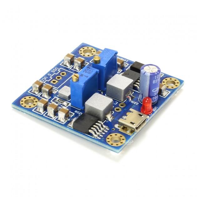 Power Supply DC-DC Converter Module 4-12V DC to +/-8 to +/-18V DC 1 5A