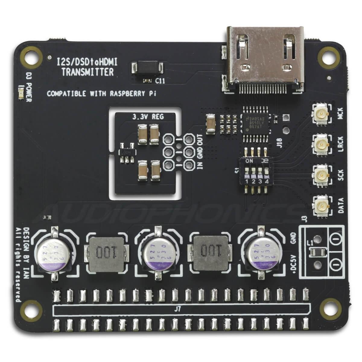 IAN CANADA HDMIpi Transmitter I2S / DSD / DoP to HDMI