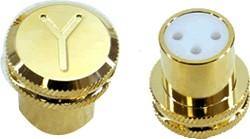 Yarbo GY-20XSC Capuchons Bouchons XLR Femelle (la paire)