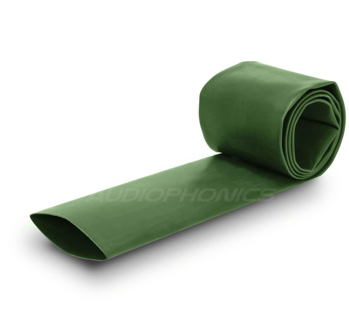 Heat-shrink tubing 2: 1 Ø09.0mm Green (1m)
