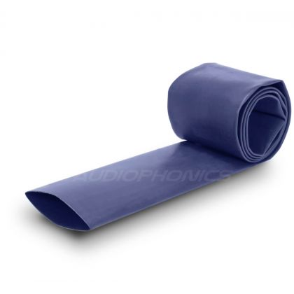 Gaine Thermo Rétractable 2:1 Ø25mm Longueur 1m (Bleue)