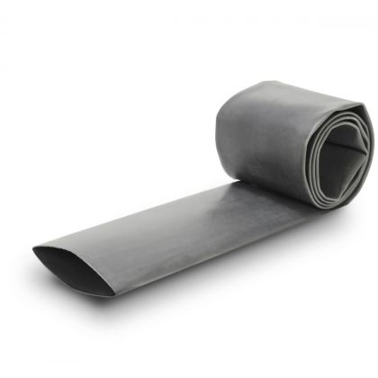Gaine Thermo Rétractable 2:1 Ø25mm Longueur 1m (Grise)