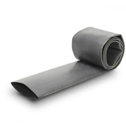 Gaine Thermo Rétractable 2:1 Ø12mm Longueur 1m (Grise)