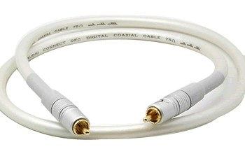 W & M Audio DC-02 Digital Coaxial Cable S / PDIF 75Ohm 5m