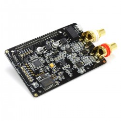 AUDIOPHONICS DAC I-Sabre ES9038Q2M Raspberry Pi / I2S & SPDIF / PCM DSD Micro USB Power Supply