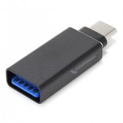 Adaptateur USB-A 3.0 Femelle vers USB-C 3.1 Mâle OTG