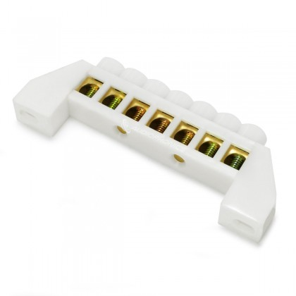 Domino Isolé 7 Ports Ø6,5mm