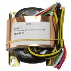 R-CORE Transformer 30VA 20-0-20V
