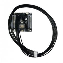 Câble Plat 10 Pins pour Module DSP Wondom