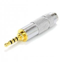 Male TRRS Jack 2.5mm to Female Jack 3.5mm Adapter