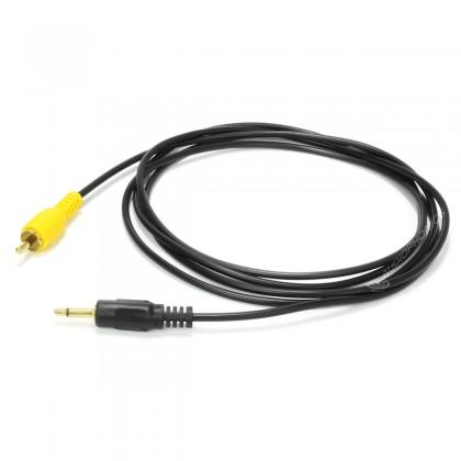 Câble RCA Mono vers Jack 3.5mm Mono Plaqué Or