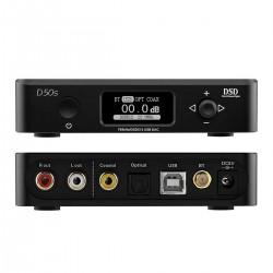 TOPPING D50S DAC 2x ES9038Q2M XMOS U208 Bluetooth 5.0 LDAC 32bit 768kHz DSD512 Black