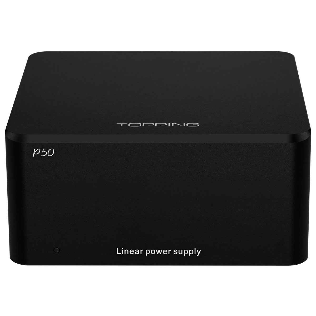 TOPPING P50 Regulated Linear Power Supply Ultra Low Noise 2x 5V 1A + 15V 1A Black