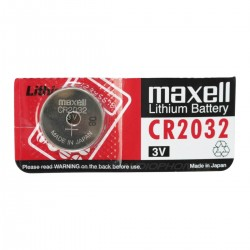 MAXELL CR2032 battery 3V 220mA Ø20mm