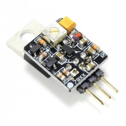 Adjustable Discrete Voltage Regulator LM7805 +12V / +25V