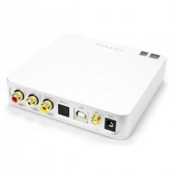 TOPPING D50S DAC 2x ES9038Q2M XMOS U208 Bluetooth 5.0 LDAC 32bit 768kHz DSD512 Silver