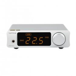 TOPPING DX3 PRO V2 DAC 2x AK4493EQ Amplificateur Casque TPA6120A2 Bluetooth LDAC XMOS XU208 32bit 768kHz Argent