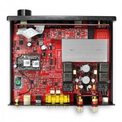 FX-AUDIO D802E Amplificateur FDA Bluetooth 4.2 NFC Class D STA326 2x40W / 8 Ohm Noir