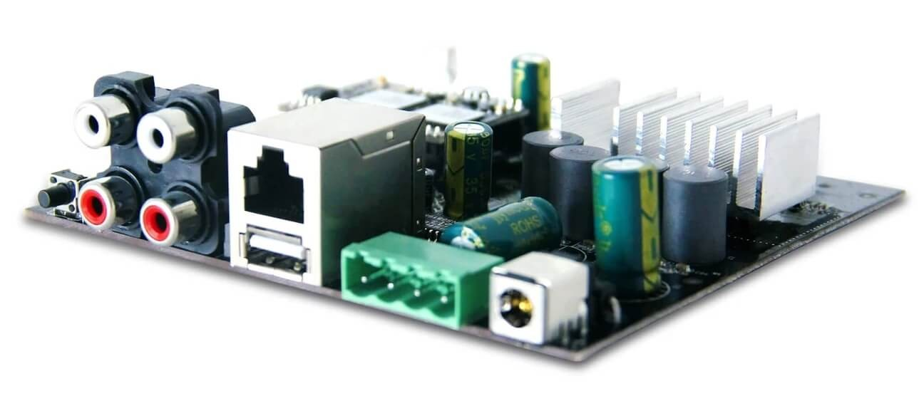 UP2STREAM AMP WB50 Module amplificateur stéréo Wifi Bluetooth 4.2 Multiroom 24/192kHz 2x50W