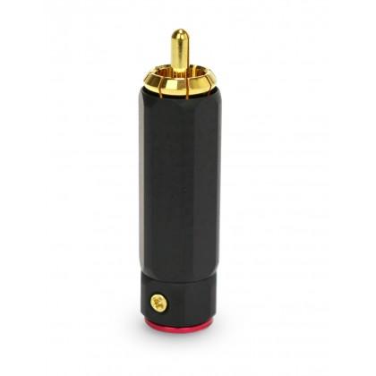 Audiophonics RC-901 RCA Rouge Isolé PTFE (unité) Ø 9.2 mm