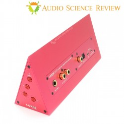 LOXJIE D10 Headphone Amplifier and DAC ES9038Q2M 32bit 768kHz DSD512 Red