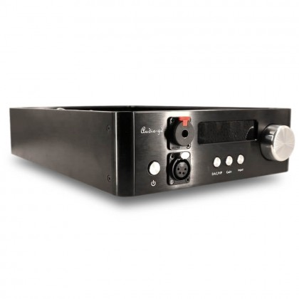 AUDIO-GD D-28.38 DAC ES9038Pro 32bit / 384kHz DSD512 Amanero Accusiliscon Crystek Amplificateur Casque Discret Class A