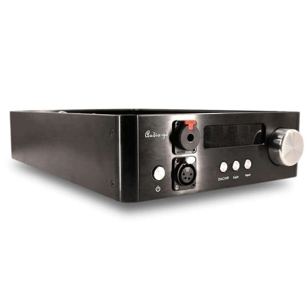 AUDIO-GD D-28.38 DAC ES9038Pro 32bit / 384kHz DSD512 Amanero Accusilicon Crystek Amplificateur Casque Discret Class A