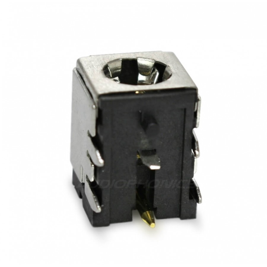 Socket Jack DC 5.5 / 2.1mm for PCB Gold Plated on