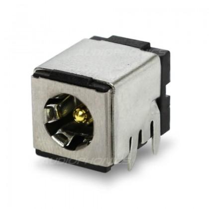 Embase d'alimentation femelle CI Jack DC 5.5 / 2.1mm Plaqué Or