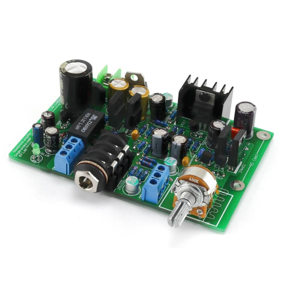 LJ HA-PRO Amplificateur Casque Stéréo Class A transistor bipolaire