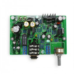 LJ HA-PRO Headphone Amplifier Stereo Class A MOSFET IRF610