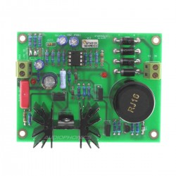 Linear Power Supply board MJE15034G Low noise 5V à 24V 2A