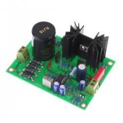 Linear Power Supply board MJE15034G Low noise 4.8V à 24V 2A