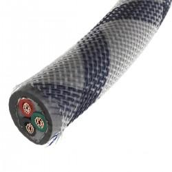NEOTECH NEP-3001 III Câble Secteur Cuivre UP-OCC Plaquage Argent 5.26mm² Ø16mm