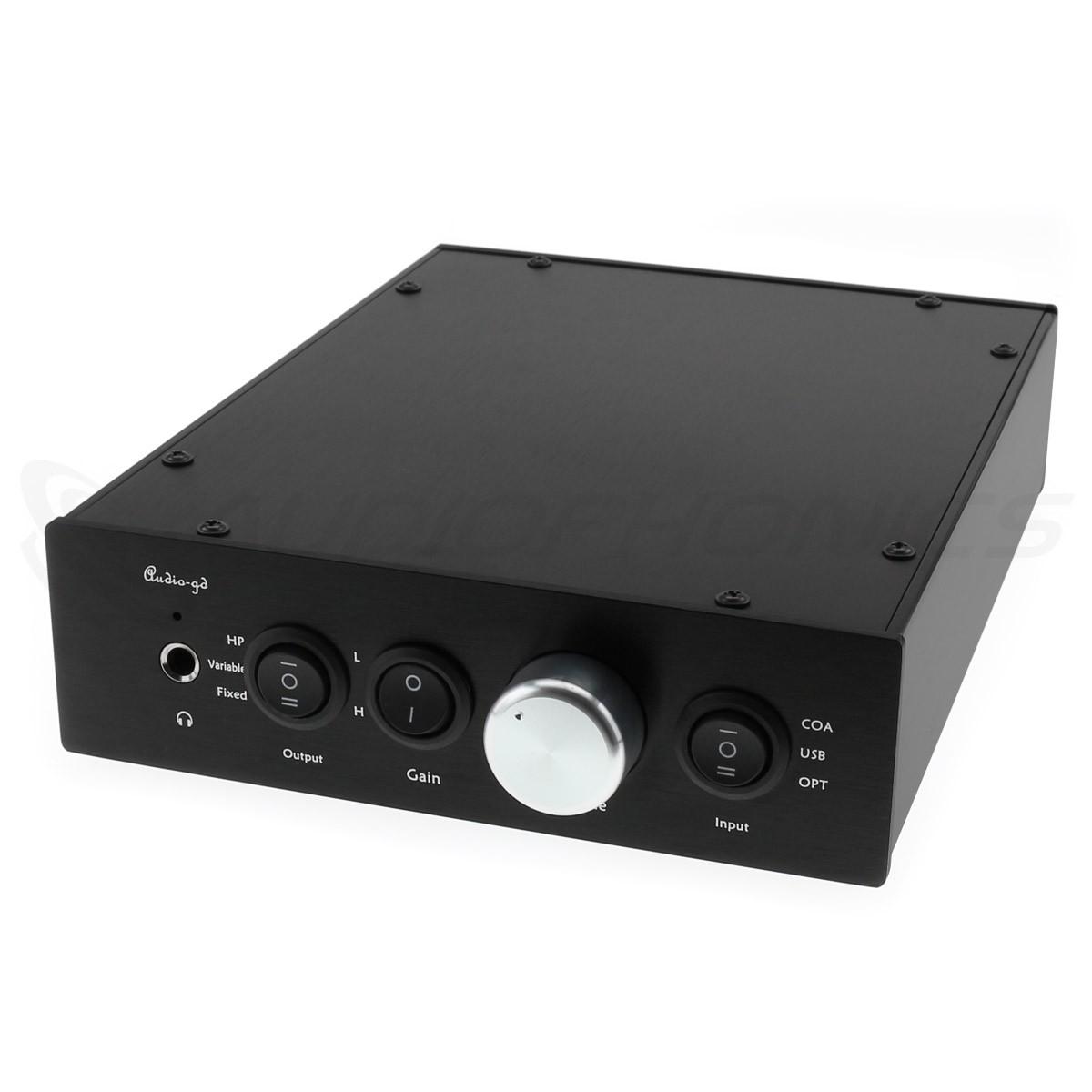 AUDIO-GD NFB-11.28 PERFORMANCE EDITION DAC ES9028Pro Préampli Ampli Casque 32bit 384kHz DSD512 Accusilicon