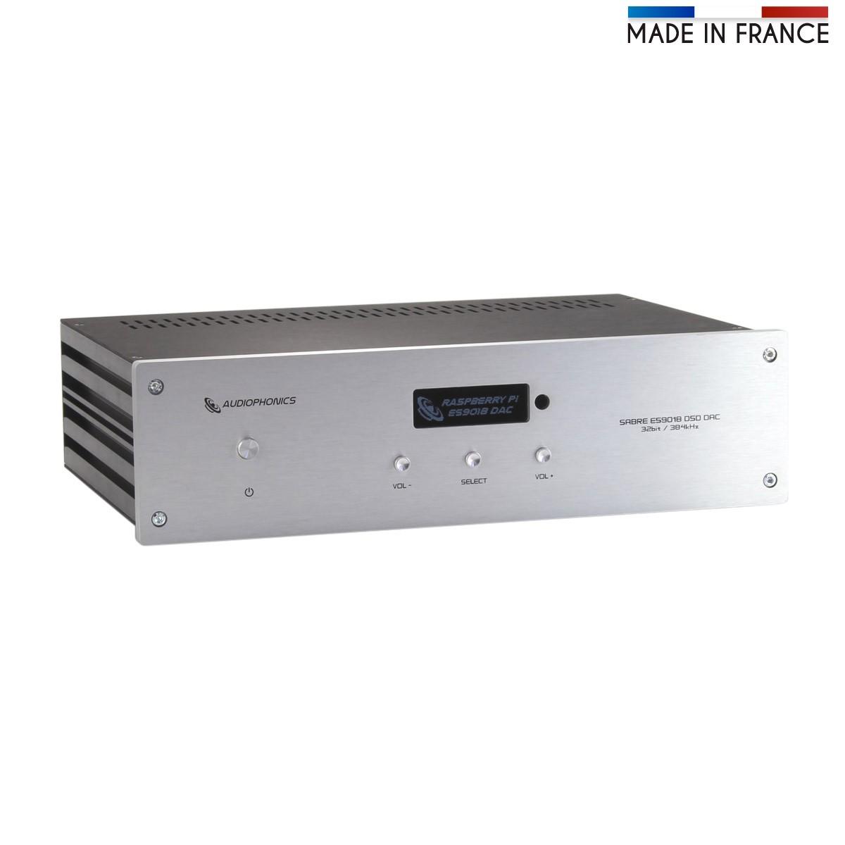 AUDIOPHONICS DAP / DAC Sabre ES9018 MK2 100Mhz Odroid C-2