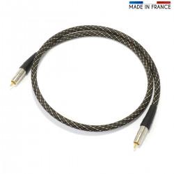 AUDIOPHONICS CANARE Câble Numérique Coaxial 75Ohm RCA-RCA 0.5m
