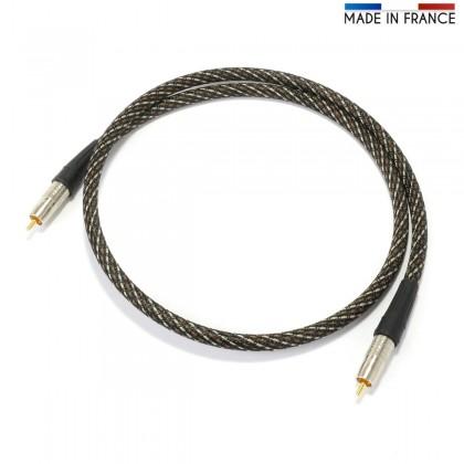 AUDIOPHONICS CANARE Digital Coaxial Cable 75ohm - RCA-RCA 0.5m