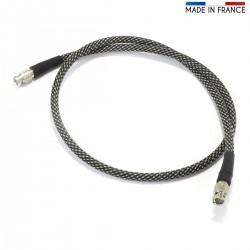 AUDIOPHONICS CANARE Digital Coaxial Cable Ultra Coax 75 Ohm BNC-BNC 1m