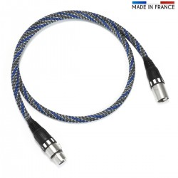 AUDIOPHONICS CANARE 110 Ohm AES / EBU Shielded Cable Gold Plated 1m