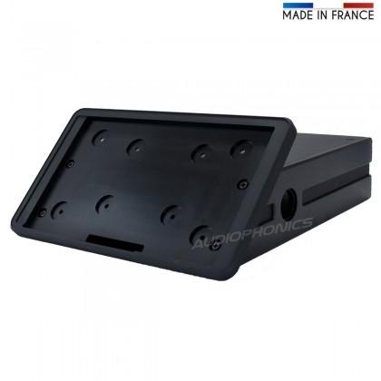RaspTouch Kit DIY Châssis aluminium et accessoires Noir