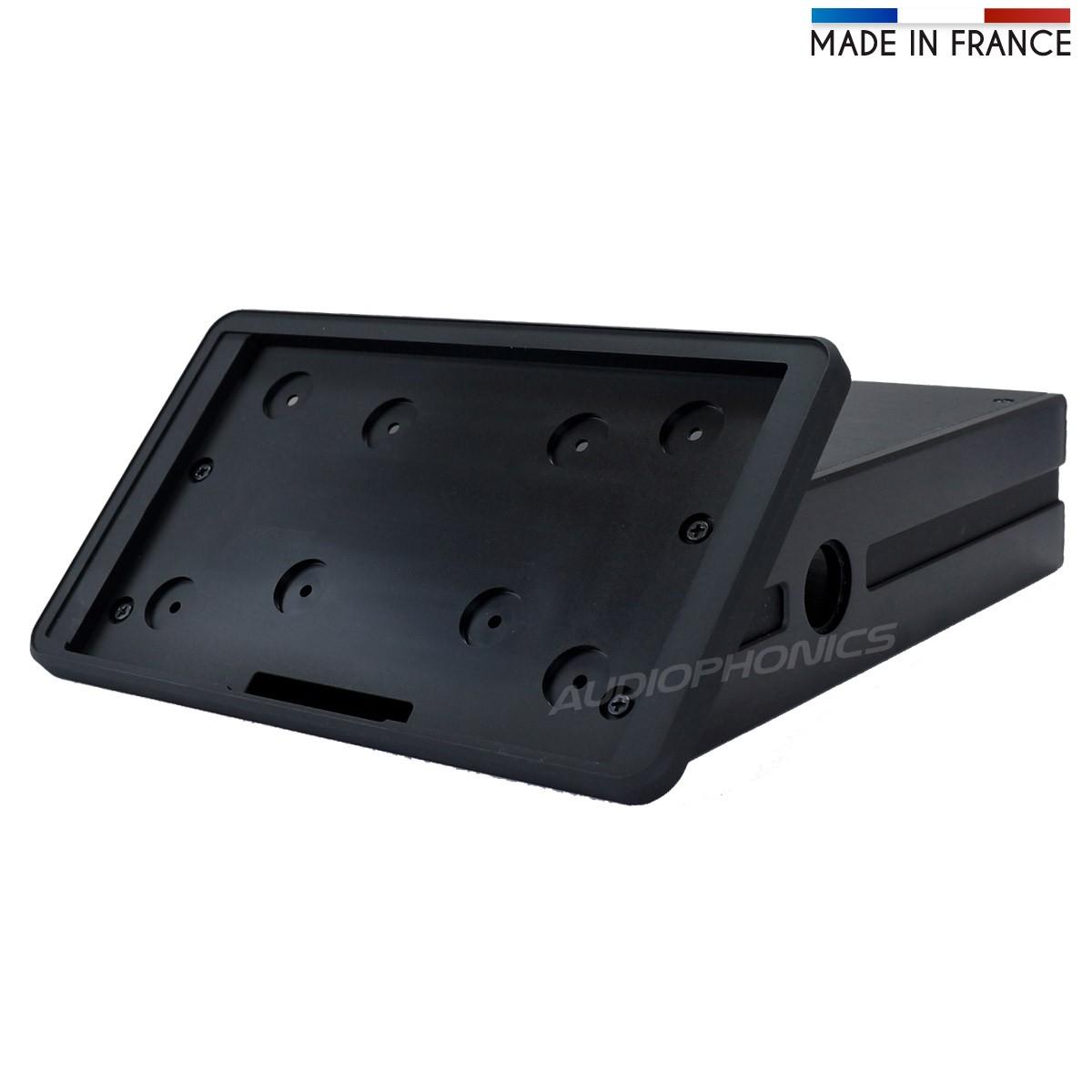 RaspTouch RPI4 Kit DIY Châssis aluminium et accessoires Noir
