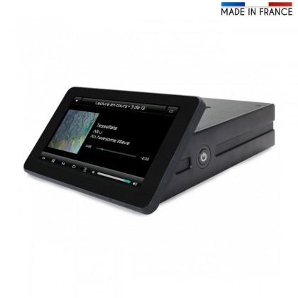 AUDIOPHONICS RaspTouch Lecteur Réseau I2S LVDS HDMI Compatible Audio-GD Noir