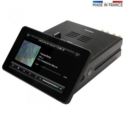 AUDIOPHONICS RaspTouch Lecteur Réseau 502DAC PCM5122 Numérique / Analogique
