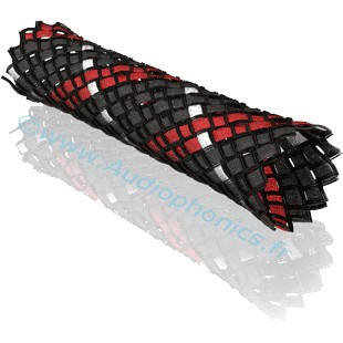 VIABLUE Red Braided Sleeve 1.5-5.5mm