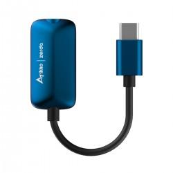 IKKO ZERDA Adaptateur DAC USB-C vers Jack 3.5mm / Optique Mini-Toslink CS43198 32bit 384kHz DSD256
