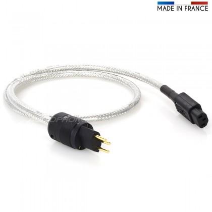 Câble secteur Suisse blindé Olflex 110CY 3x2.5mm² 1.15m SEV 101