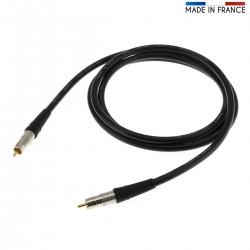 CANARE Cordon numérique coaxial 75ohm - RCA-RCA 2.0m