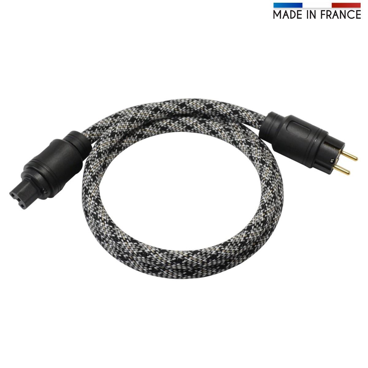 ELECAUDIO SILVER LINE MKII Câble Secteur OFC 3x3.5mm² C13 1.5m
