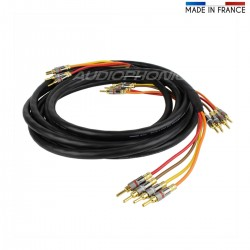 MOGAMI 3104 High performance Speakers Cable Bi-Amp 3m